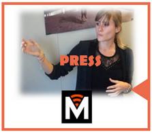 Advanced manufacturing press article