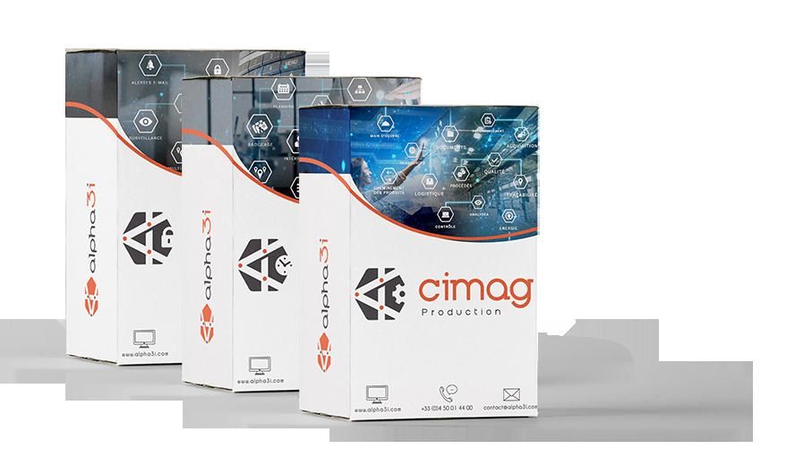 packaging logiciels ALPHA-3i