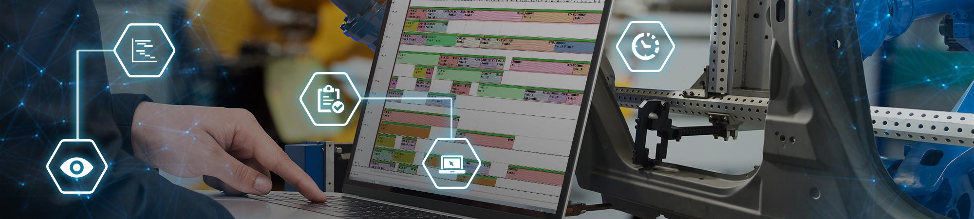 scheduling industrial software
