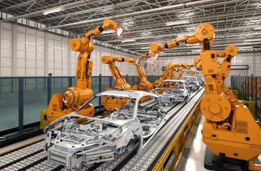 logiciel MES secteur automobile
