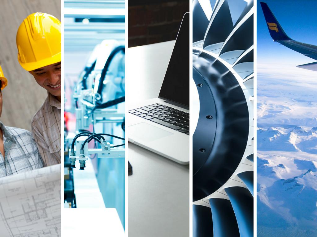 Le secteur aéronautique de sa conception à son aboutissement