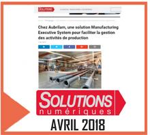 article de presse concernant Aubrilam citant CIMAG d'ALPHA-3i dans un article web d'avril 2018