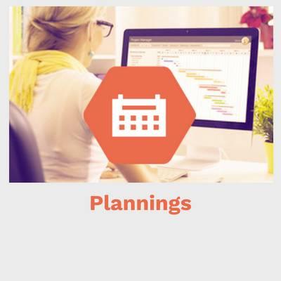 logiciel gestion temps, gestion plannings