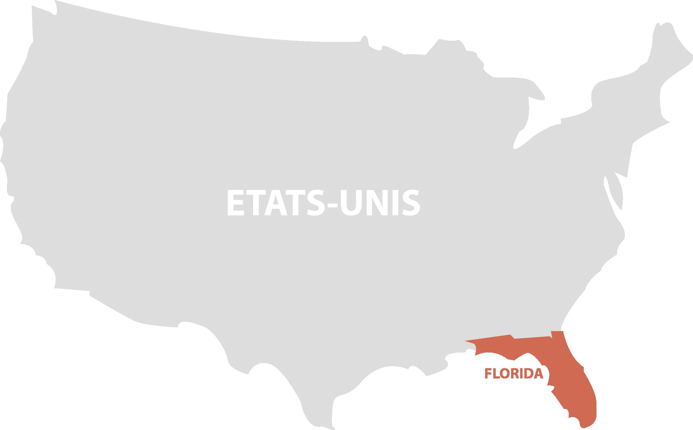 carte et adresse internationalisation d'ALPHA-3i aux Etats-Unis